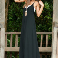 Longing To Be Maxi Dress, Black