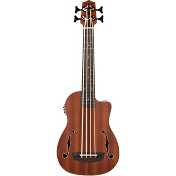 UBASS-JYMN-FS Journeyman Acoustic/Electric U-Bass with F-holes and Padded Gig Bag