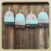 Crochet Beanie~Ready to Ship~FREE SHIPPING