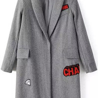 Grey Patches Coat
