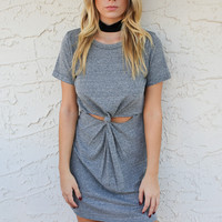 Marissa Gray Open Knot Dress