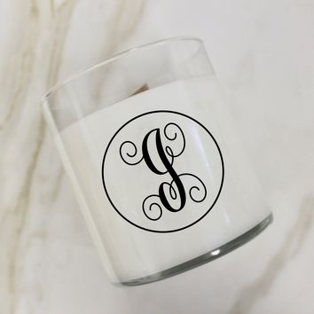 Initial I Candle