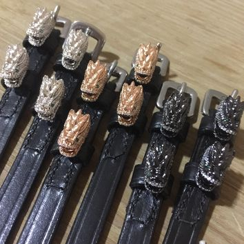 Dragon Head Spur Straps