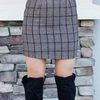 Make It Plaid Skirt