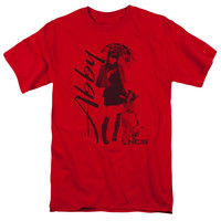 NCIS/SUNNY DAY - S/S ADULT 18/1 - RED -
