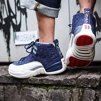 "Air Jordan 12 ""International Flight"" BV8016-445"