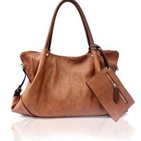 Elegant Retro British Style Removable Handbag