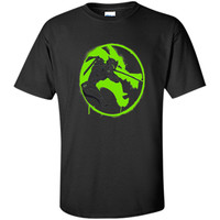 Overwatch Genji Shimada Spray Tee Shirt