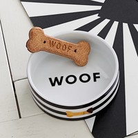 The Emily & Meritt Pet Bowl, Woof