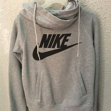 VXL8HQ NIKE' Women Fashion Hooded Top Pullover Sweater Sweatshirt Hoodie
