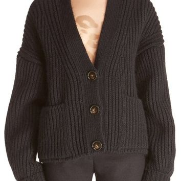 ACNE Studios 'Hadlee' Chunky Knit Button Cardigan | Nordstrom