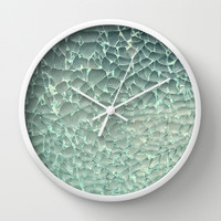 Shattered Wall Clock by RichCaspian
