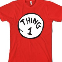 Thing One-Unisex Red T-Shirt