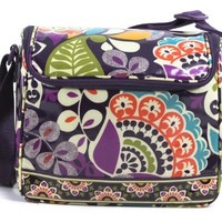 Vera Bradley Stay Cooler Plum Crazy