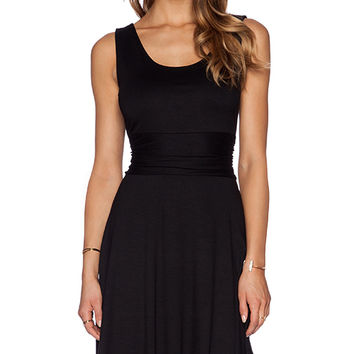 three dotsTank Dress in Black