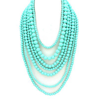 Pree Brulee - Fine Arts Turquoise Necklace