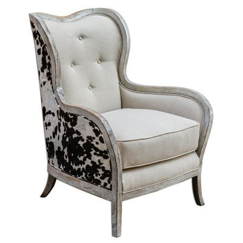 Uttermost Chalina High Back Armchair - 23611