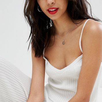 Micha Lounge Ribbed Knitted Cami Top Co-Ord at asos.com