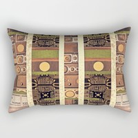 Music Vintage Rectangular Pillow by Infloence