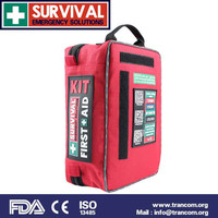 SES01 SURVIVAL Car Medical First Aid Kit (with FDA/CE/TGA)