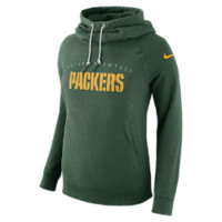 Nike Everyday Rally Funnel Pullover (NFL Packers) Women's Hoodie