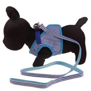 One Set Dog Harness Strong Pet Dog Training Vest Harness Dogs Leash Set Soft Walking Out Harness