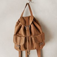 Cornelia Leather Backpack by CNP