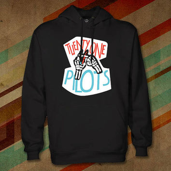 twenty one pilots hoodie for from. Black Bedroom Furniture Sets. Home Design Ideas