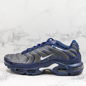 Nike Air Max Plus Tn Black White Running Shoes - Best Deal Online