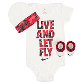 Infant Nike Live and Let Fly 3-Piece Set