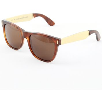 Super by Retrosuperfuture Men's Sunglasses Classic Francis Havana