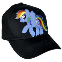 My Little Pony Rainbow Dash Hat Baseball Cap Alternative Clothing
