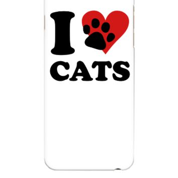 I Love my Cats - iphone 6 Plus Case