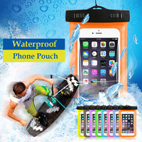 Waterproof Pouch Mobile Phone Case with Strap Dry Pouch Cases Cover for Samsung for iPhone 6 5S SE 6S Plus