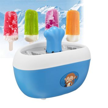 Homemade Ice Popsicle Quick Pop Yogurt Maker Set Kids Dessert Freeze In Minutes Without Electricity