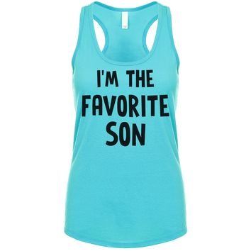 I'm The Favorite Son Women's Tank