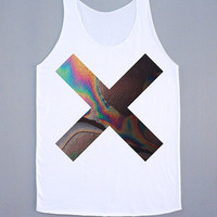 The XX Coexist Tank Top Indie Pop Rock Shirt The XX Coexist Shirt Women Tank Top Women Tunic Sleeveless White Shirt Vest Women Shirt Size S