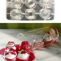 PLASTICLAND - Cool Jewels Faceted Gems Ice Cube Tray