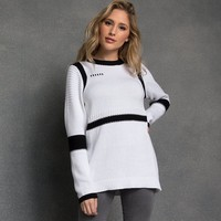 Licensed cool Disney Store Star Wars Pullover Stormtrooper Sweater for Women Her Universe NWT