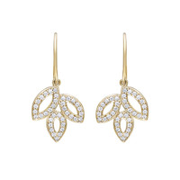 Lily Cluster by Harry Winston, Diamond Drop Earrings