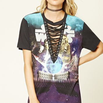 Strappy Star Wars Graphic Tee