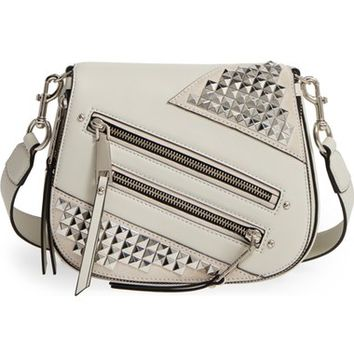 MARC JACOBS Small Nomad Studded Leather Crossbody Bag | Nordstrom