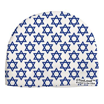 Stars of David Jewish Child Fleece Beanie Cap Hat All Over Print by TooLoud