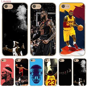 9859da96842e Lavaza LeBron James Hard Phone Case for Apple iPhone X 10 8 7 6