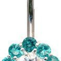Sunshine crystal belly rings by GlitZ JewelZ © - we use the best Laser cut CZ crystals hand set and hand polished - gently packed in a lovely velvet pouch. Choose the color from menu below - Surgical steel bar 3/8' (10MM): Jewelry: Amazon.com