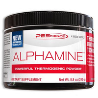 PEScience Alphamine - Powerful Thermogenic Powder (Margarita), 8.9 ounces/84 scoops