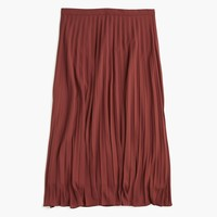 Women's Pleated Midi Skirt - Women's Skirts | J.Crew