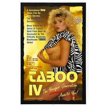 Taboo Pt 4 Movie Poster 11 inch x 17 inch poster