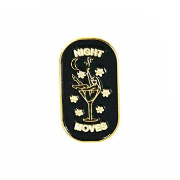 Night Moves Lapel Pin