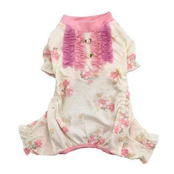 Genevieve Dog Pajamas by Pooch Outfitters